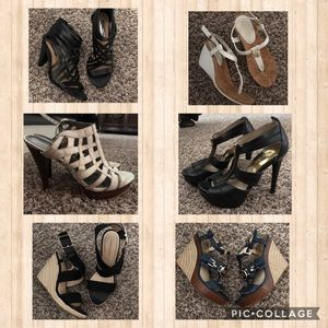 Shoes - Summer Open Heels / Pumps Sizes 5.5 to 7